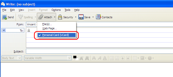 How to use a Virtual Card (vCard)   How to   Mozilla Support