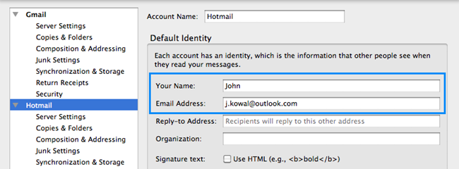 Thunderbird and Hotmail | How to | Mozilla Support