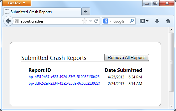 SubmittedCrashReports-Win7
