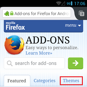 Change the look of Firefox for Android using themes | How to