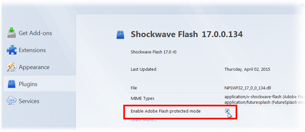 flash protected mode fx38