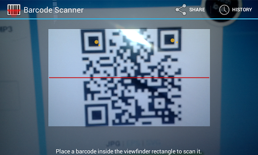 Scan QR codes in Firefox for Android | How to | Mozilla Support