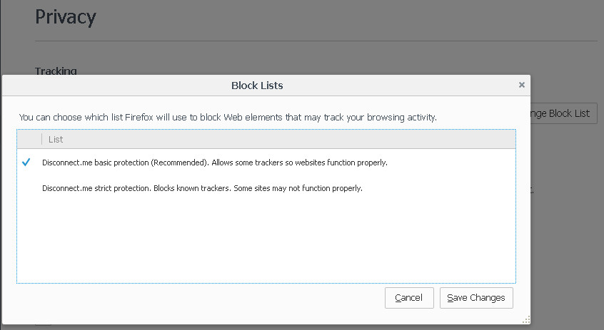change block list window fx43