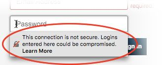 Insecure password warning in Firefox | How to | Mozilla Support