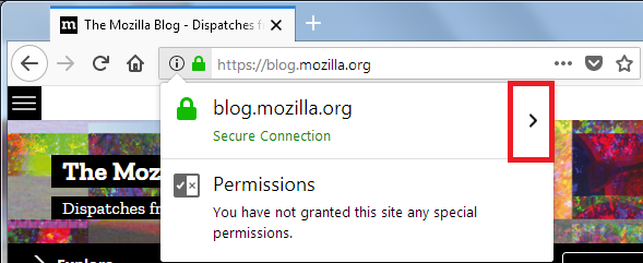 Firefox Page Info window | How to | Mozilla Support