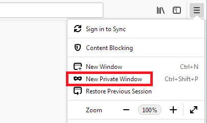 Private Browsing - Use Firefox without saving history | How