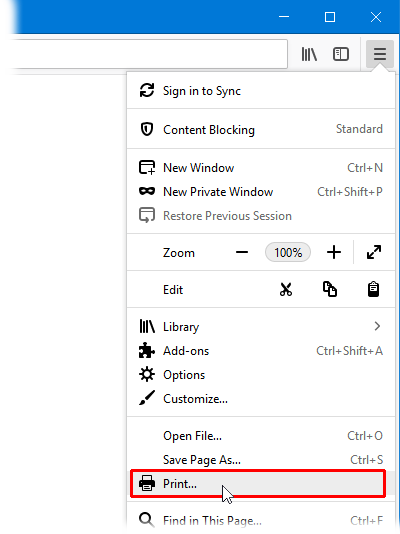 How to print web pages in Firefox | How to | Mozilla Support