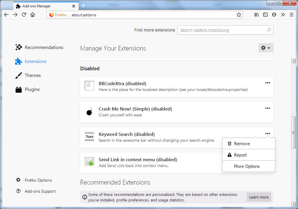 Frequently asked questions - Firefox add-on technology is
