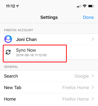 Sync logins in Firefox for Android | How to | Mozilla Support