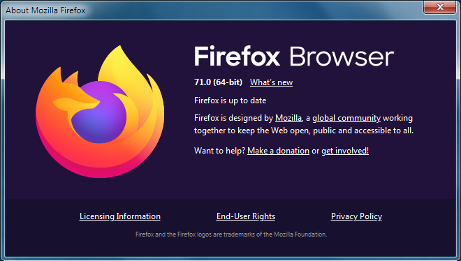 Find What Version Of Firefox You Are Using Firefox Help
