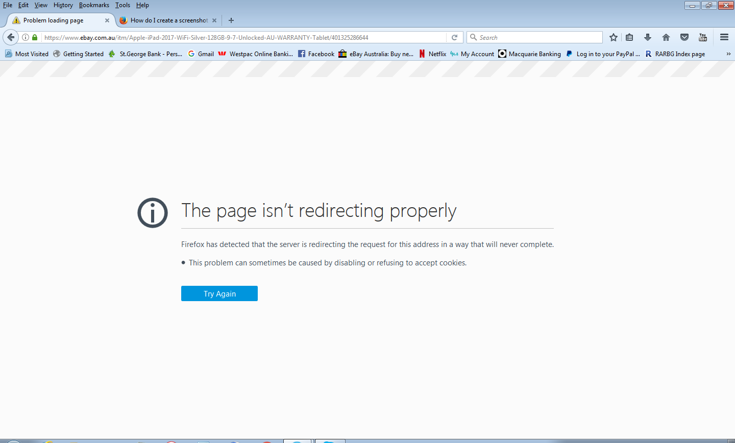 Firefox Cannot Browse Through Ebay Firefox Support Forum Mozilla Support