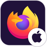 Firefox til iOS supportforum logo
